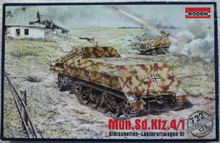 Roden 1/72 722 Sd.Kfz. 4/1 Munitionskraftwagen for Nebelwerfern